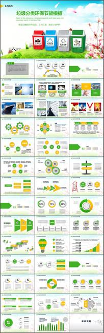 绿色低碳保护环境PPT模板