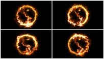 大火太极八卦视频带透明通道