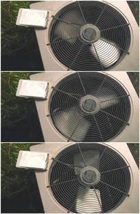 空调外机电扇风扇坏了不转视频