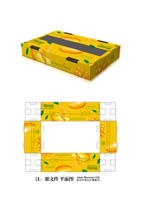 芒果包装设计 AI