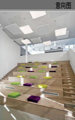 室内空间阶梯