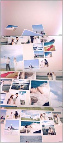 温情美好婚礼相册图集AE模板