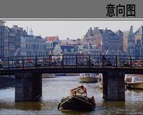 古典铁艺桥