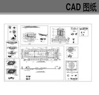 喷泉涌泉CAD合集