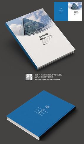 建筑设计抽象画册封面 PSD