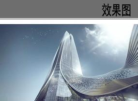 现代时尚商业建筑效果图 JPG