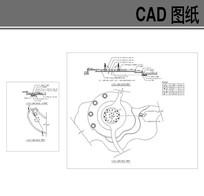 园林旱喷施工图 CAD