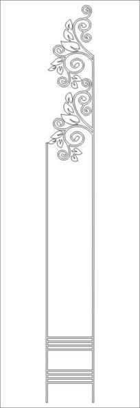 春枝头雕刻图案