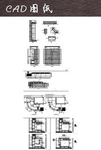 服务台CAD施工图