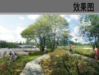 国外滨水公园效果图