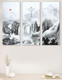 万象中式客厅书房装饰画