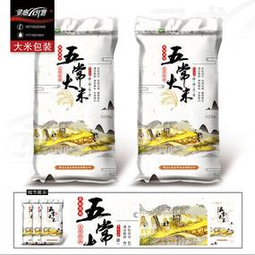 当前  精品大米包装稻花香粮食礼盒 大米包装盒设计 有机大米包装盒图片
