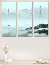 修心养性中式客厅装饰画