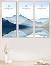 中国风大气高端客厅书房装饰画