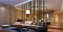 竹子装饰特别特大房效果图
