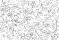 背景花纹雕刻图案