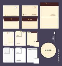 高档信封信纸设计模板