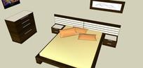 超长床背板床模板