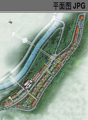 村庄概念性规划设计平面图