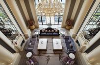 大型高档别墅客厅意向图