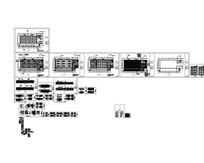 典雅型酒店宴会厅全套施工图