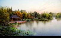 古典园林水景