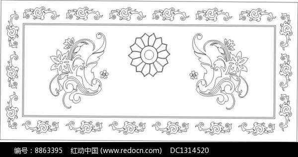 花边花纹台面花雕刻图案图片