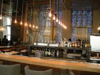 环球金融中心93层餐厅吧台 JPG