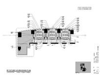 酒店三个连续套房会议室平面图