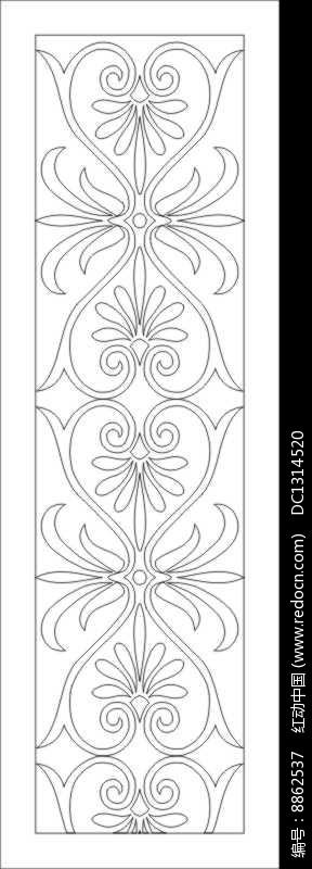 镂空欧式花纹雕刻图案图片