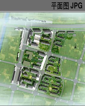 美丽乡村安置区规划平面图