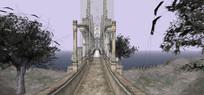 欧式大桥天桥