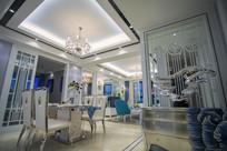 欧式大住宅餐厅设计