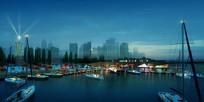 水上船艇景观