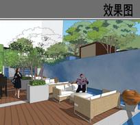 四季酒店室外用餐平台效果图 JPG
