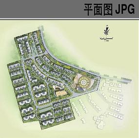 乡村规划平面图