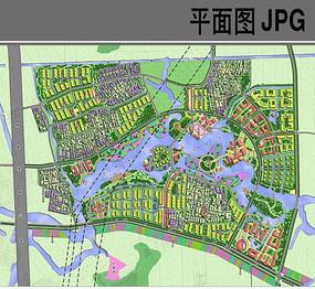 乡村旅游规划设计方案平面图