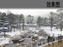 雁栖湖国际会都冬园效果图