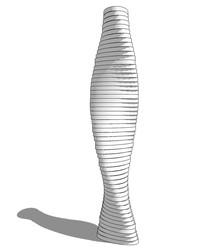 艺术雕塑模型 skp