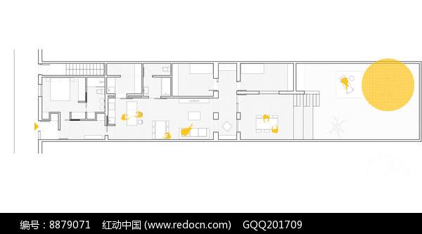别墅室内布局设计平面图图片