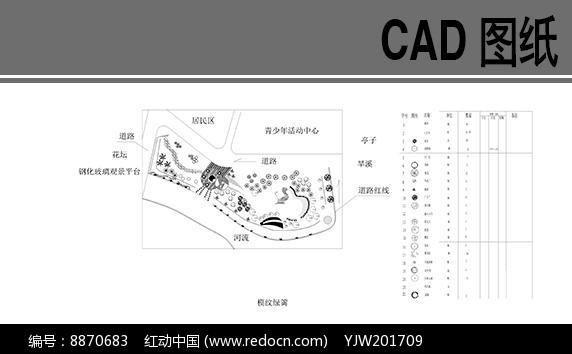 滨江公园平面图