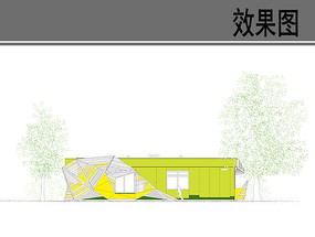 创意幼儿园建筑设计立面