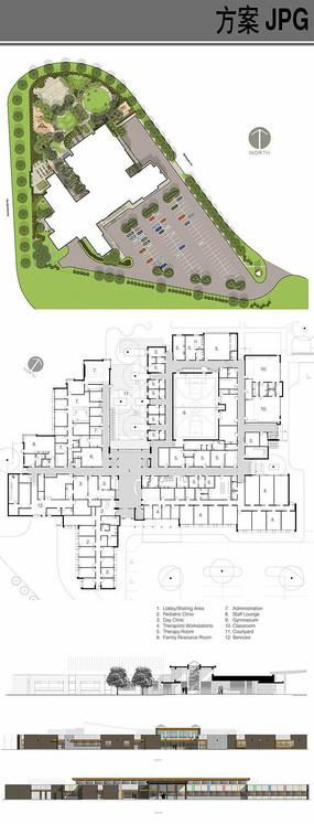 单层幼儿园建筑设计