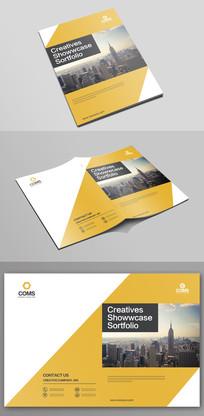 大气企业文化宣传画册封面