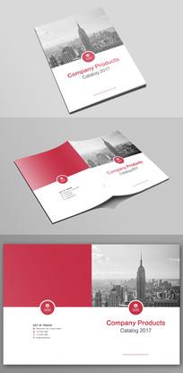 大气企业文化宣传画册封面设计