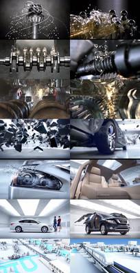 动力机械发动机动态视频