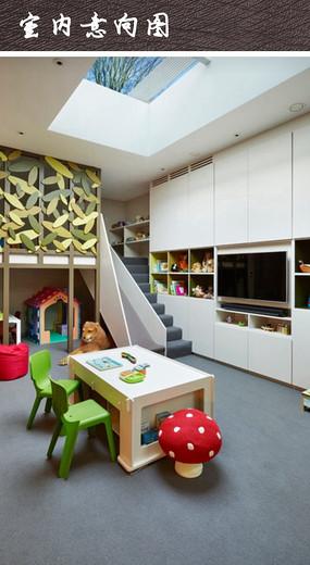 儿童学习娱乐房间