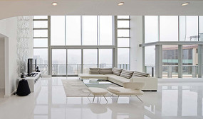 高端住宅客厅效果图