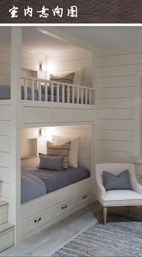简约双人床卧室