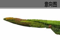 绿化带地被组合ps素材